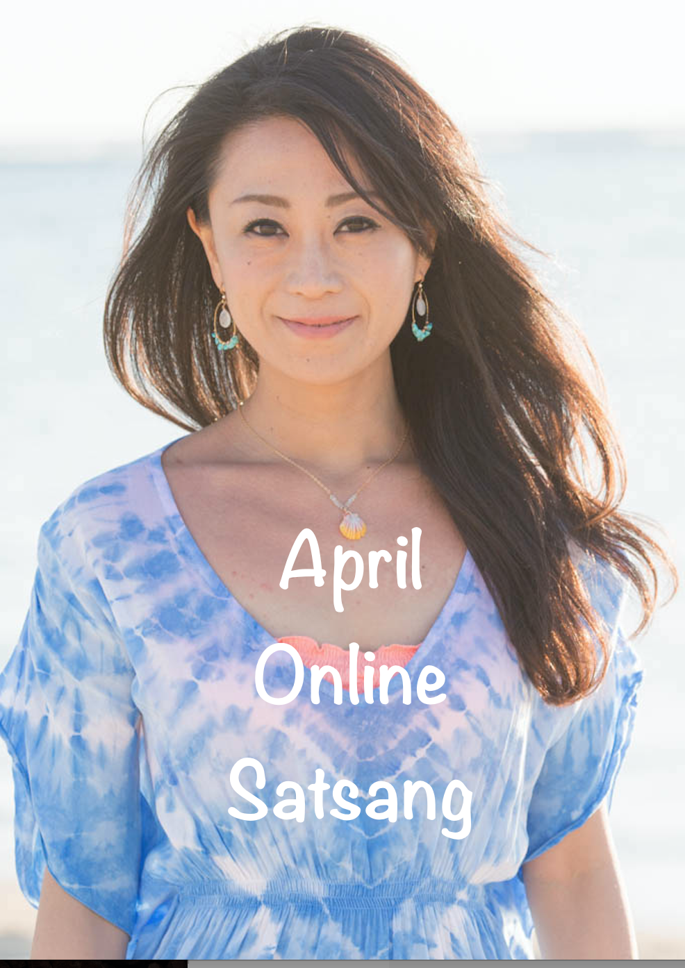 affiche april online satsang
