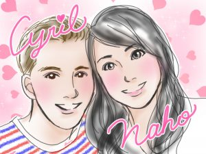 Naho and Cyril
